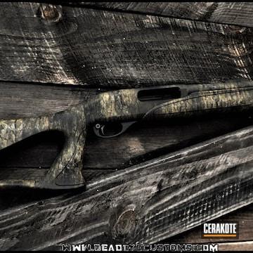 Cerakoted Camo Custom Shotgun