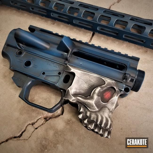 Cerakoted: Hidden White H-242,S.H.O.T,Spike's Tactical The Jack,Spike's Tactical,Graphite Black H-146,Desert Sand H-199,Sharps Brothers,Tactical Rifle,Jack,Sky Blue H-169