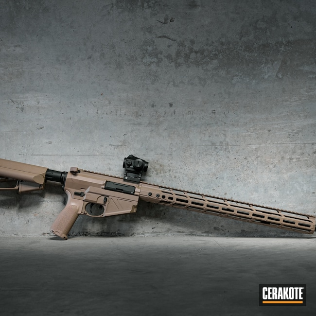 Cerakoted: S.H.O.T,Radian Weapons,MAGPUL® FLAT DARK EARTH H-267,MagPul,SLR,Tactical Rifle,Strike Industries,.223,vseven,Vortex,Surefire,Maccabee Defense,AR-15,BCM