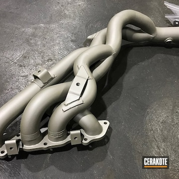 Cerakoted Refinished Exhaust In C-7900