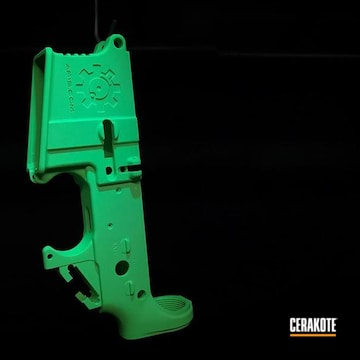 Cerakoted Custom Lower Receiver In H-331