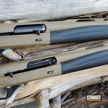 Cerakoted Refinished Benelli 12 Gauge In H-261
