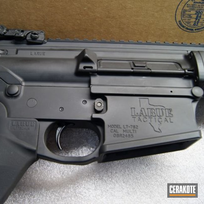 Cerakoted: S.H.O.T,Graphite Black H-146,Tactical Rifle,.308,LaRue Tactical