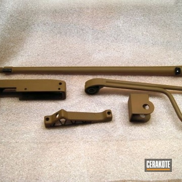 Cerakoted Ruger 10/22 Gun Parts In H-265