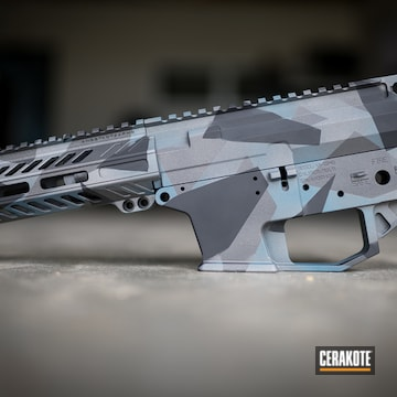 Cerakoted Splinter Camo In H-170, H-190 And H-185