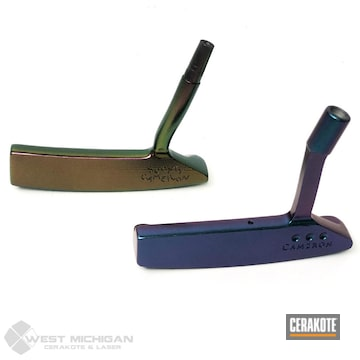 Cerakoted Refinished Golf Putters In H-190 And H-300