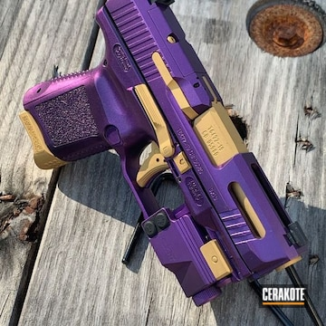 Cerakoted Two Toned Canik Tp9 In H-122