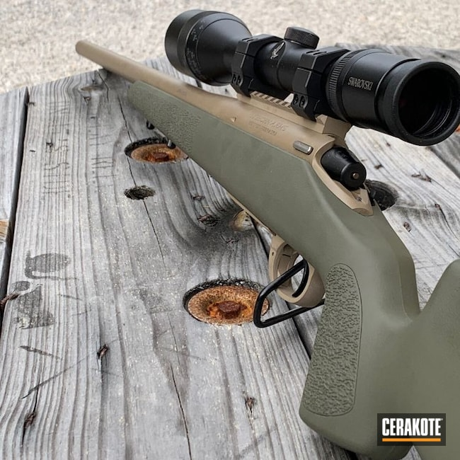 Cerakoted: S.H.O.T,Rifle,Bolt Action Rifle,MAGPUL® FLAT DARK EARTH H-267,Bolt Action,SR3,Big Horn,O.D. Green H-236,Custom Built,Swarovski,Triggertech,204 Ruger