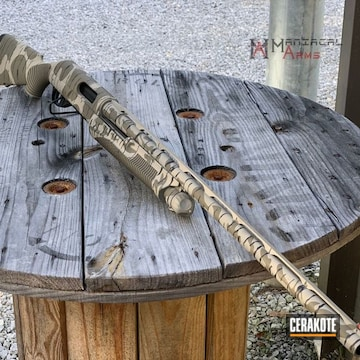 Cerakoted Bottomland Shotgun Camo In H-146