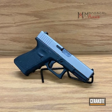 Cerakoted Refinished Glock 19 In H-170