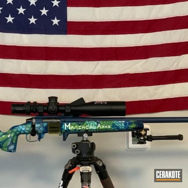 Cerakoted: Bolt Action Rifle,McMillan,S.H.O.T,Rifle,Robin's Egg Blue H-175,Area 419,Zombie Green H-168,Kahles,6 BRX,Tactical Rifle,mcmillan stocks,Hidden White H-242,Kryptek,Mcmillan A6,TL3,Hellfire,Big Horn,Stormtrooper White H-297,KEL-TEC® NAVY BLUE H-127,Competition Gun,Mandalorian,Bighorn Arms TL3,Sky Blue H-169