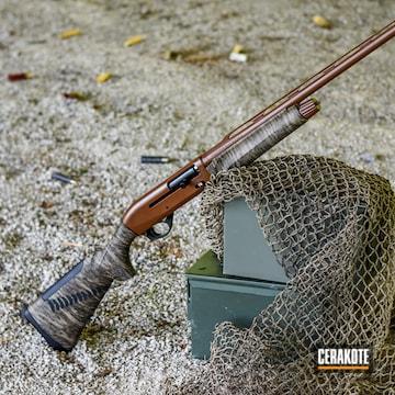 Cerakoted Benelli M2 20 Gauge In H-342