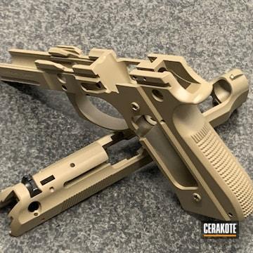 Cerakoted Refinished Beretta Handgun In H-267