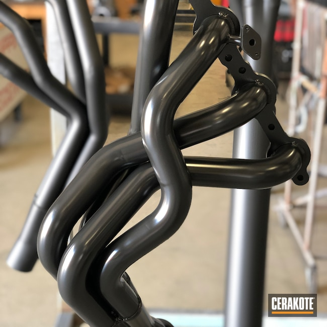 Cerakoted: Exhaust,More Than Guns,Automotive,CERAKOTE GLACIER BLACK C-7600