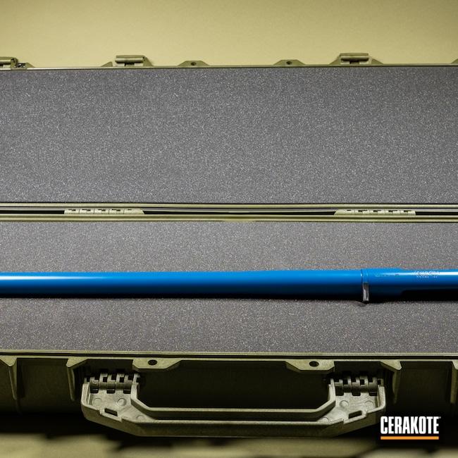 Cerakoted: S.H.O.T,Barreled Action,Bolt Action,Rem 700,Remington,Sky Blue H-169