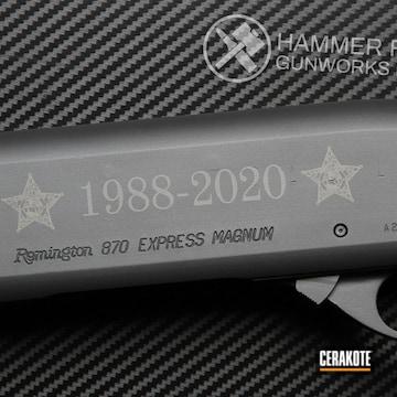 Cerakoted Custom Remington 870 Shotgun In H-234