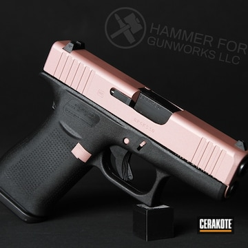 Cerakoted Custom Glock 43x In H-327