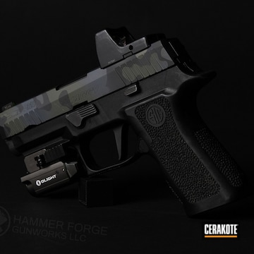 Cerakoted Sig Sauer P320 In H-146, H-240 And H-345