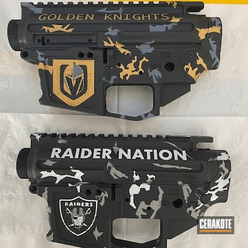 Cerakoted Custom Sports Themed 9mm Pistol Builds