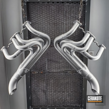 Cerakoted Automotive Exhaust In C-7700