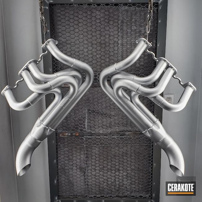 Cerakoted: Sprint Car,Exhaust,More Than Guns,Headers,Automotive,Automotive Exhaust,CERAKOTE GLACIER SILVER C-7700,Race Car