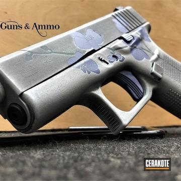 Cerakoted Orchid Themed Glock 43 Handgun