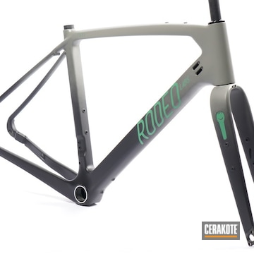 Cerakoted Rodeo Labs Trail Donkey Bike Frame