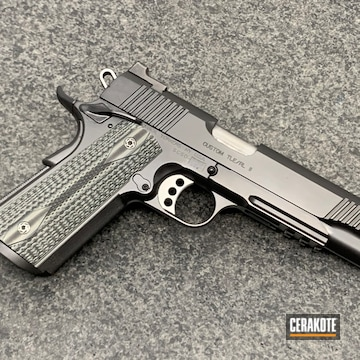 Cerakoted Kimber Tle/rl Ii 1911 In H-146