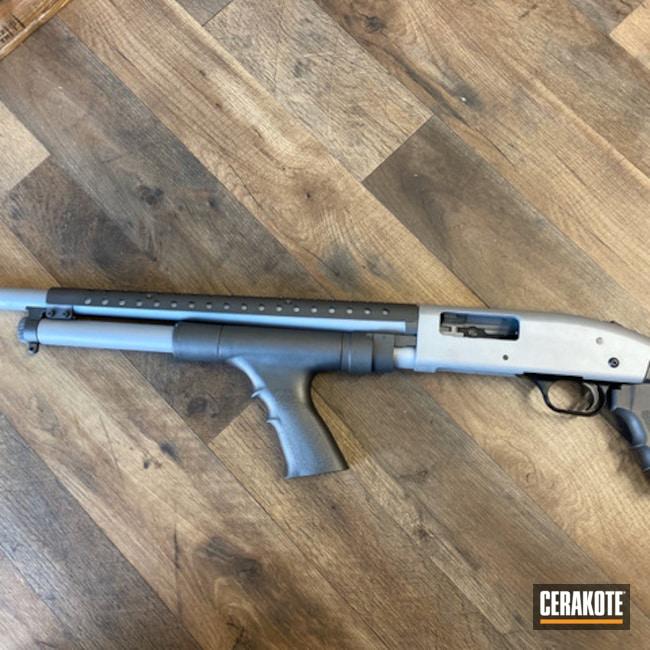 Cerakoted: SHOT,Tactical Shotgun,Shotgun,Crushed Silver H-255,12 Gauge
