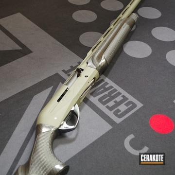 Cerakoted Benelli Supersport Shotgun In H-229 And H-146