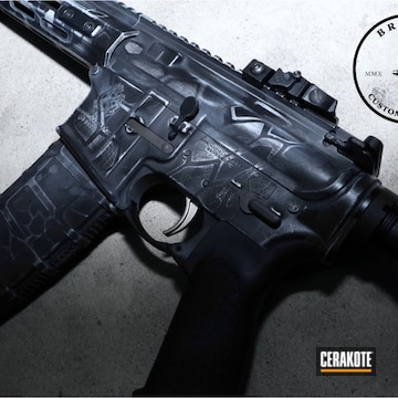 Cerakoted Kryptek Springfield Armory Saint Rifle