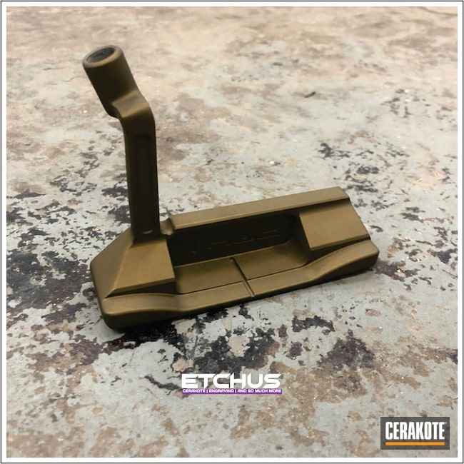 Cerakoted: Golf,Sports,Sports Equipment,TRU2 GOLF,Burnt Bronze H-148,More Than Guns,Sports and Fitness