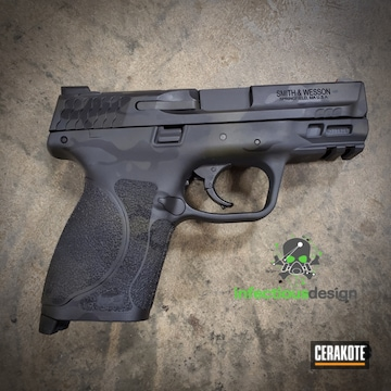 Cerakoted Smith & Wesson Multicam In H-234, H-146 And H-236