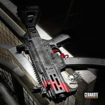 Cerakoted Custom Camo Cz Ar Pistol In H-167, H-234 And H-146