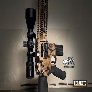 Cerakoted Custom Multicam 6.5 Rifle