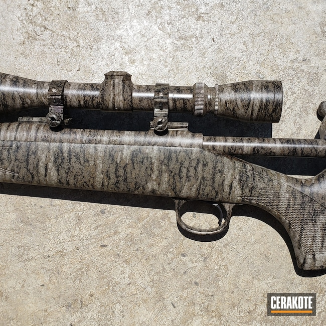 Cerakoted: S.H.O.T,Bolt Action Rifle,MATTE CERAMIC CLEAR MC-161,Rem 700,Remington