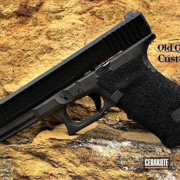 Cerakoted Custom Glock 17 In H-146 And H-237