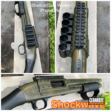 Cerakoted Mossberg Shockwave In H-148 And H-236