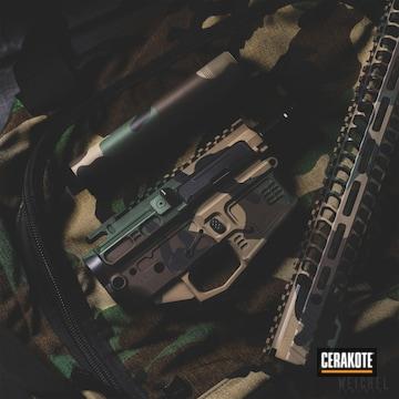 Cerakoted Jungle Multicam Upper / Lower / Handguard