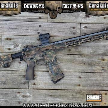 Cerakoted Custom Multicam Rifle