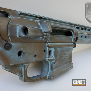 Cerakoted Noveske Rifle Patina Copper/bronze Appearance