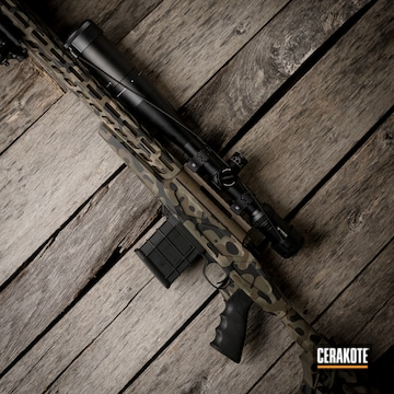 Cerakoted Multicam Long Range Rifle