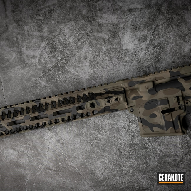 Cerakoted: S.H.O.T,MAGPUL® FLAT DARK EARTH H-267,MultiCam,Patriot Brown H-226,Armor Black H-190,Tactical Rifle,MAGPUL® O.D. GREEN H-232