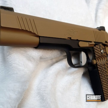Cerakoted Kimber 1911 In H-146