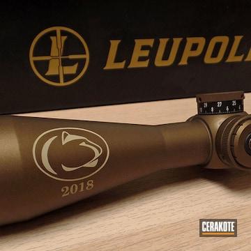 Cerakoted Custom Leupold Vx-6hd Scope In Vx-6hd, H-199 And H-148