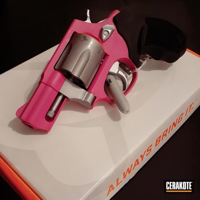 Cerakoted: S.H.O.T,856,Revolver,Firearm,SIG™ PINK H-224,Taurus