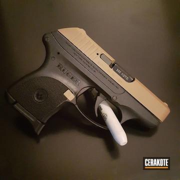 Cerakoted Ruger Lcp Handgun In H-267