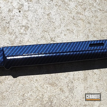 Cerakoted Carbon Fiber Rifle Stock In Mc-160