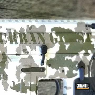Cerakoted Custom Urban Multicam In H-242, H-267 And H-236