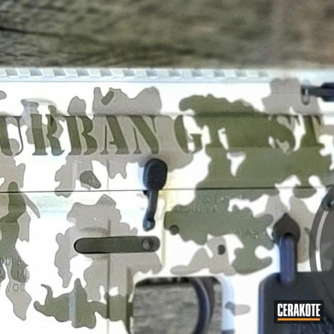 Cerakoted: S.H.O.T,Rifle,MAGPUL® FLAT DARK EARTH H-267,Urban Warfare,Revolutionarmz,Multi,Tactical Rifle,O.D. Green H-236,Urban Ghost,Urban Camo,5.56,Hidden White H-242,Ghost,AR-15